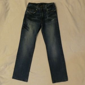 Armani Exchange Lightly Distressed Jeans